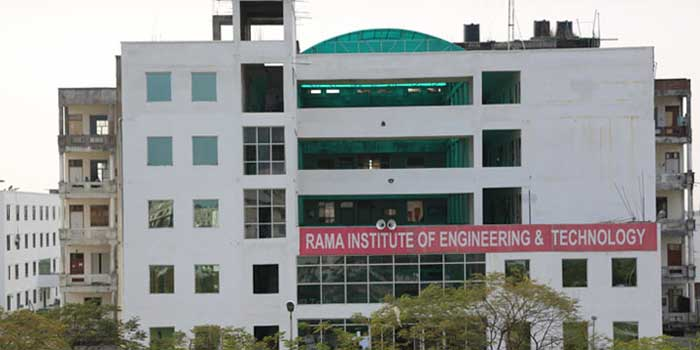 Rama Institute of Engineering & Technology (Front Elevation)